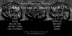 UNITED FORCES OF INDUSTRIAL III-poster